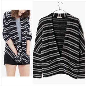 Madewell Striped Upbeat Cardigan Sweater XS/S